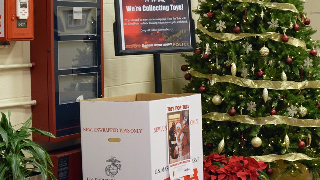 BCPD And BC Rec Team Up To Spread Holiday Spirit With Toys For Tots Drive