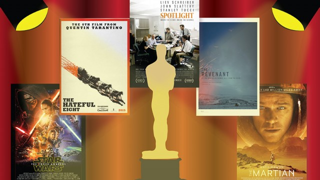 Sizing Up The Competition: Looking At The 2016 Oscars Contenders