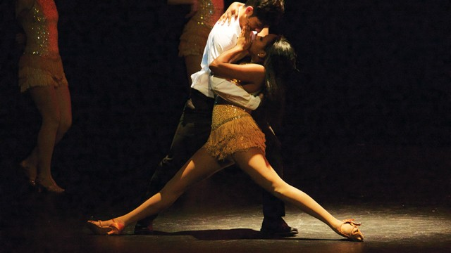 Dancers Enchant For Stunning Performance On Robsham Stage