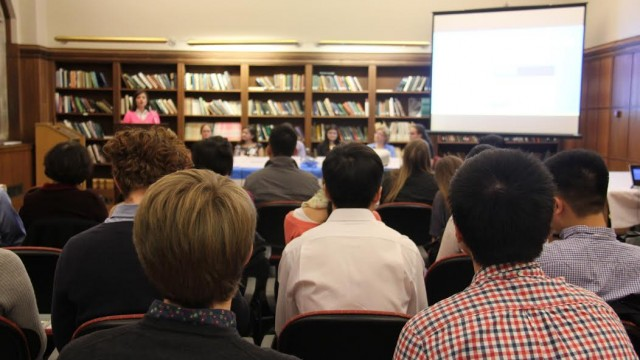 At Panel, Elements Journal Encourages Undergraduate Research Opportunities