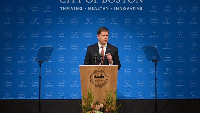 Mayor Walsh Gives His Second State of the City Address