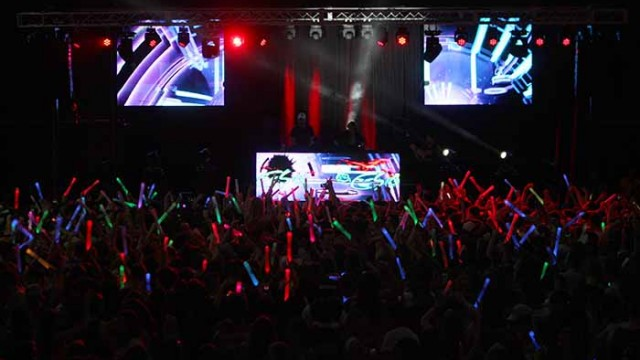 The Chainsmokers Light Up CAB's Annual Plexapalooza