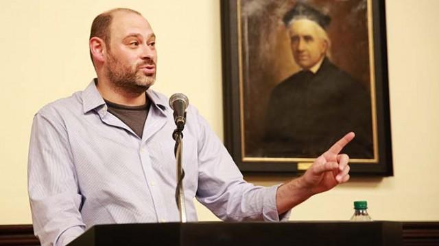 Lowell Series Speaker on Judaism, Vodka, and Creative Writing