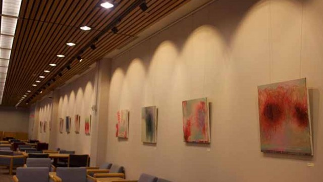 O'Neill Painting Displays Meditative Compilation on War and Suffering