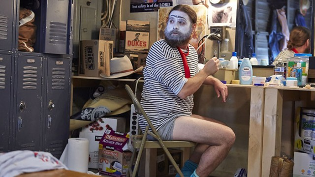 Galifianakis Searches for Identity as Sad Clown in 'Baskets'