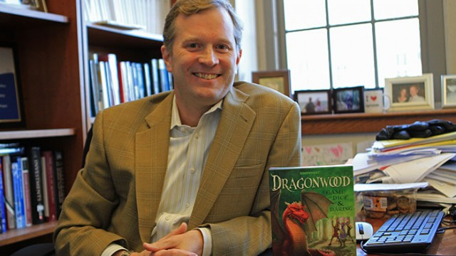 CSOM Professor Kisgen's Board Game Dragonwood Takes Flight