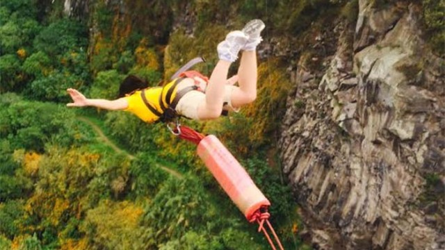 Rising to New Heights, Jumping to New Depths: A Leap of Faith in Ecuador