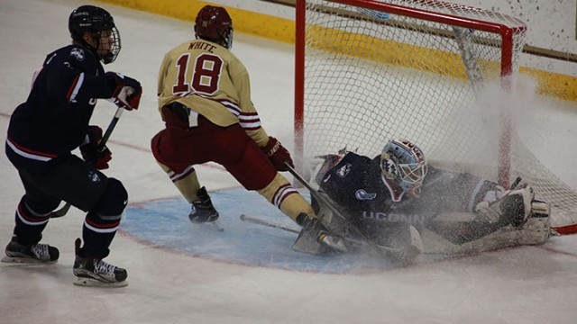 Battle of Goalies Ends in Tie for Crippled Eagles