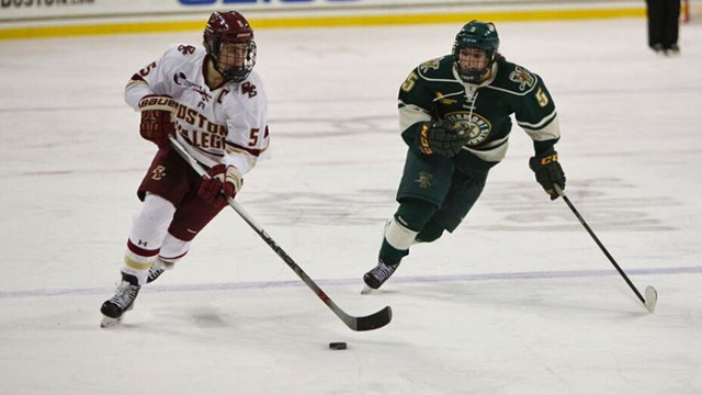 Future Looks Bright for Eagles Against Vermont