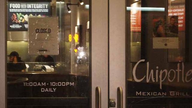 Students Sickened with Chipotle Norovirus Enlist Lawyer's Help