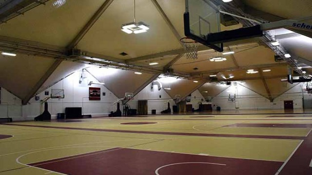 BC Rec Gives the Plex NCAA Regulated Basketball Courts