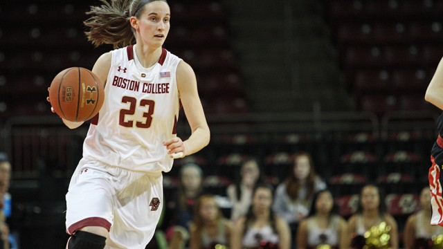 Hughes Hits 1,000th Point in Loss to No. 22 Duke