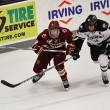 Colin White chases the puck