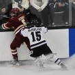 Casey Fitzgerald lays a hit