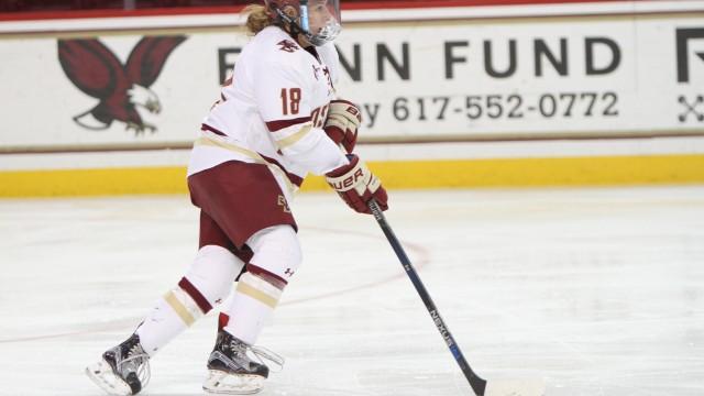 Women's Hockey Trounces Maine, Advances to Hockey East Semifinals