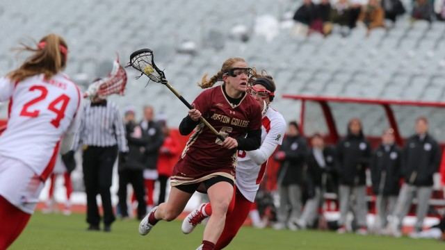 Funny Business: Sarah Mannelly Leads Lacrosse By Making Everyone Laugh