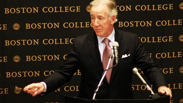 Mayor Marty Walsh, Congressman Richard Neal Talk About Easter Rising