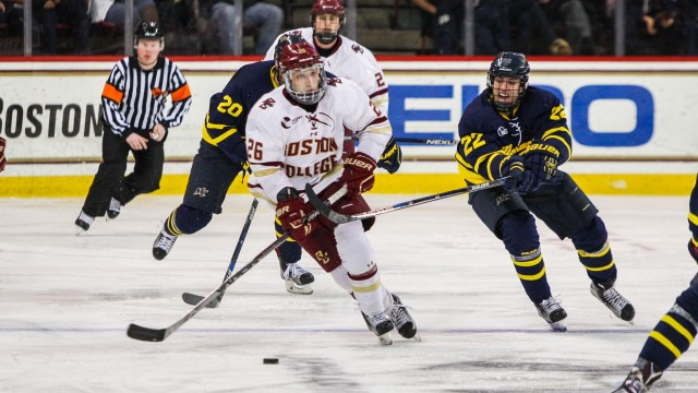 Last-Minute Goal Spoils Weekend Sweep for BC Hockey