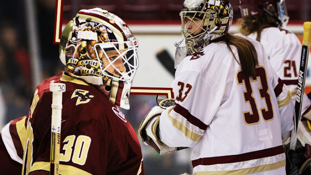 Are Thatcher Demko and Katie Burt The Best BC Goaltenders Ever?
