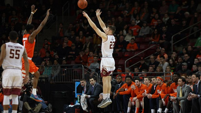 Clifford and Milon Drop 41 of BC's 61 in Loss to Syracuse