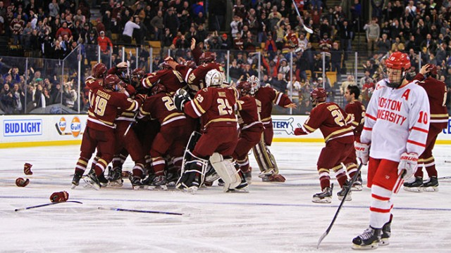 Boston College Wins 20th Beanpot Title on Alex Tuch OT Goal