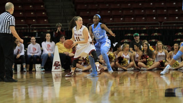 Eagles Fall to Tar Heels Despite Explosive Performance From Boudreau