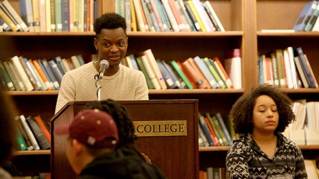 Student Organizations Join Together for Black History Month Opening Ceremony