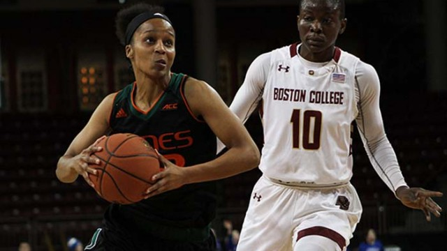 Second Half Scoring Run Carries Miami Over Women's Basketball