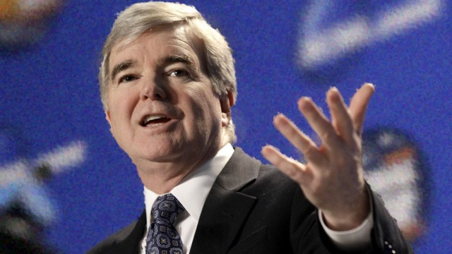 NCAA President Emmert Has Short Leash in Second Term
