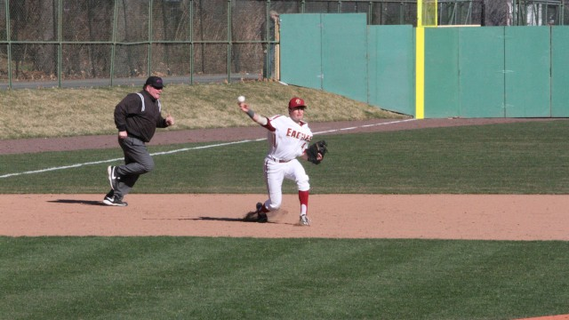 Eagles' Bats Come Alive in Win at UMass