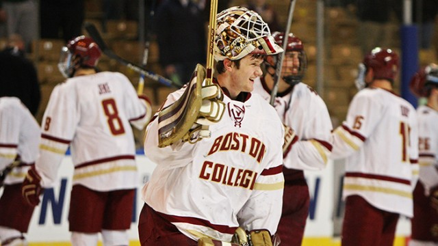 Boston College Advances to 25th Frozen Four in Program History