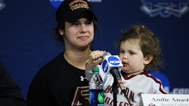 Three Cheers for BC Women's Hockey