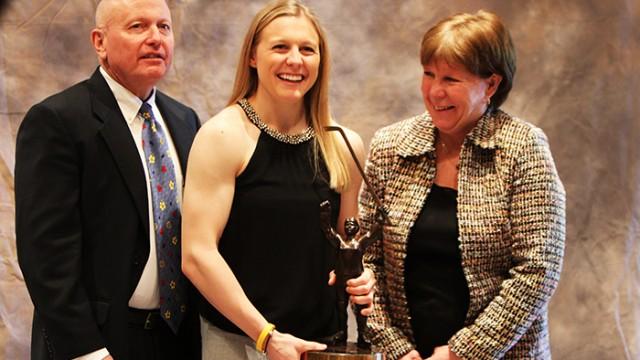 Northeastern's Kendall Coyne Wins Patty Kazmaier Award