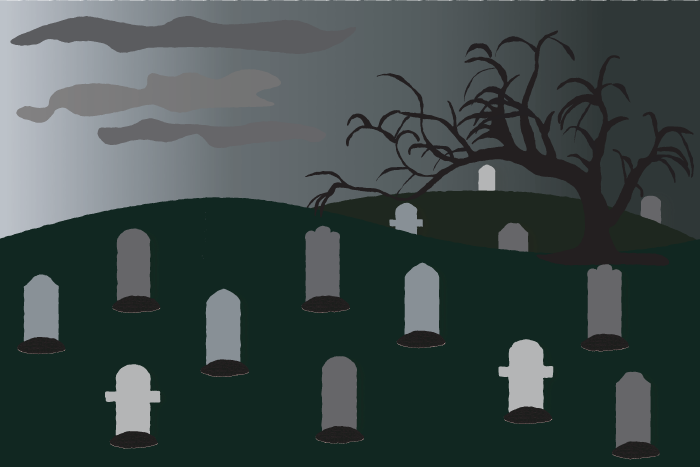 Graveyard graphic