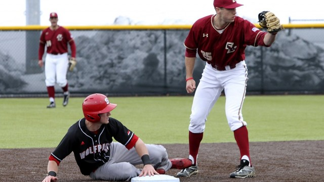 Birdball Shines Again, Takes Two Against No. 8 North Carolina State