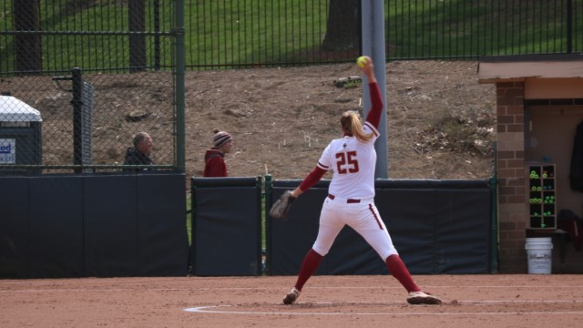Dreswick Hurls No-Hitter as Softball Sweeps NC State