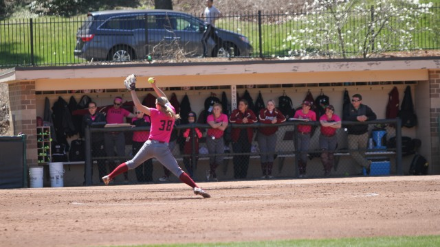 Softball Runs Out of Steam in 11-Inning Loss to UConn