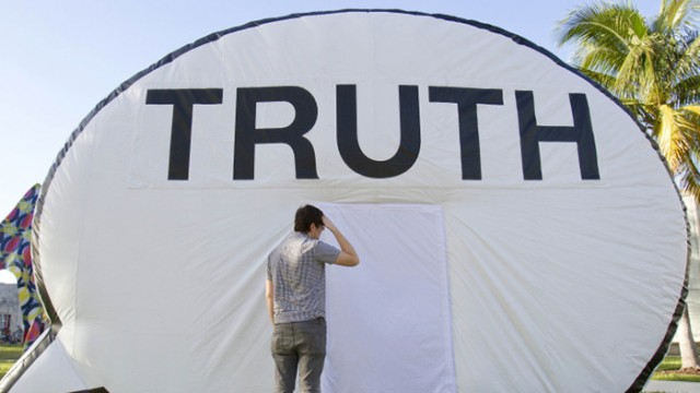 The Truth Booth: The Pressure of Communicating in Modern Life