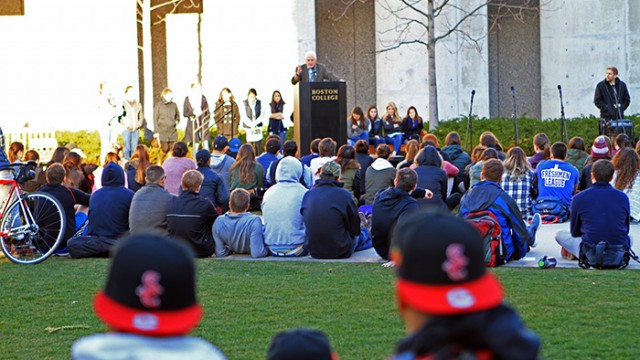 At 'Take Back the Night,' Students Reclaim Sexual Assault Experiences