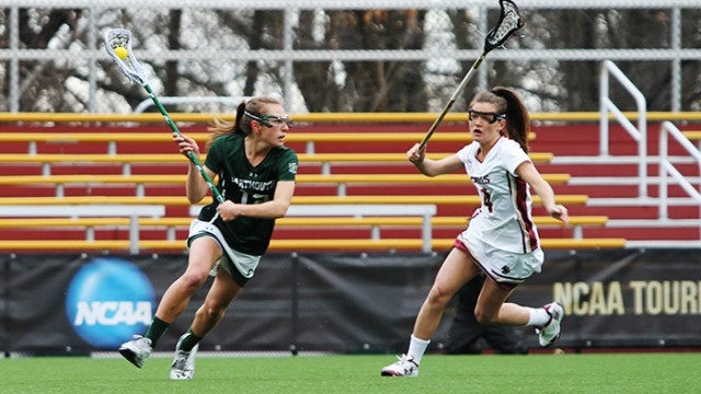 Kenzie Kent Dominates as Lacrosse Defeats Dartmouth