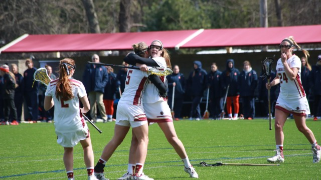 Kent's Hat Trick Not Enough for Lacrosse at No. 13 Duke