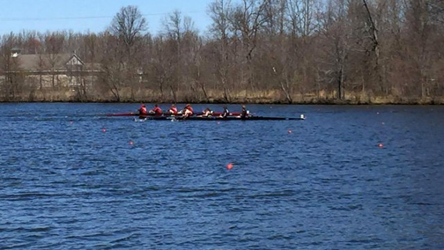 Rowing Celebrates Program-Best Finish at Knecht Cup