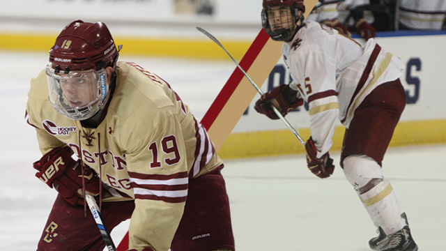 Fitzgerald Brothers Have Helped Propel BC to Frozen Four