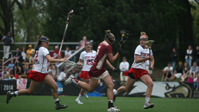 Lacrosse Falls to Stony Brook in NCAA Tournament