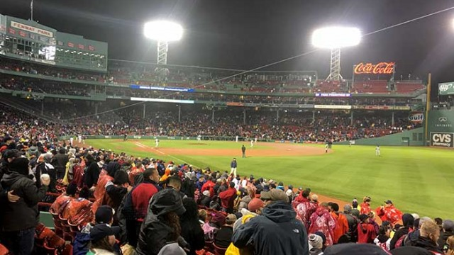 At Fenway, A Chance to Join Something Larger, Connect With Boston