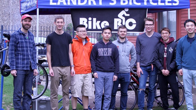 Bike Share Pilot Program Hosted By BC Bikes, O'Neill Library