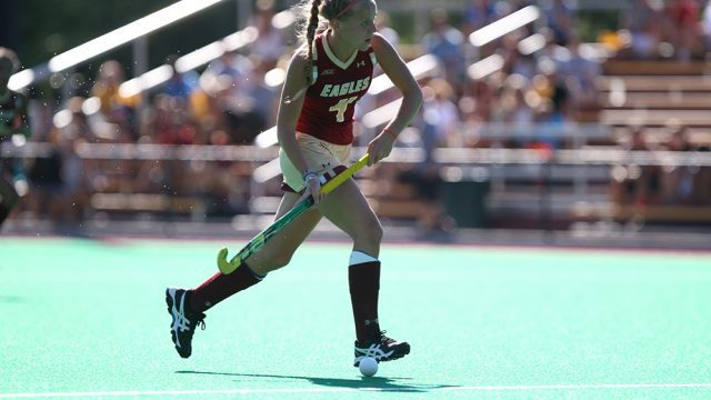 In Hampsch's First Start, Field Hockey Shuts Out Quinnipiac