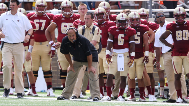 At Media Day, Addazio Praises BC's Speed, Potential, and Love of the Game