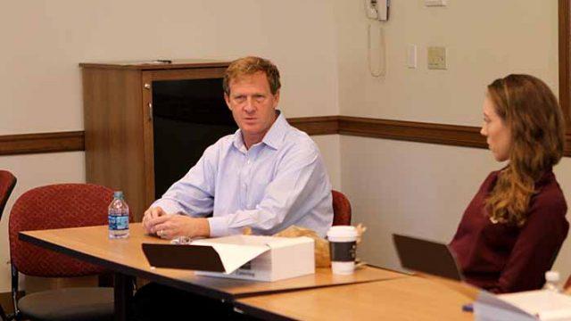'Stories Unite Us and Bring Us Together,' Wesner Hosts Agape Lunch