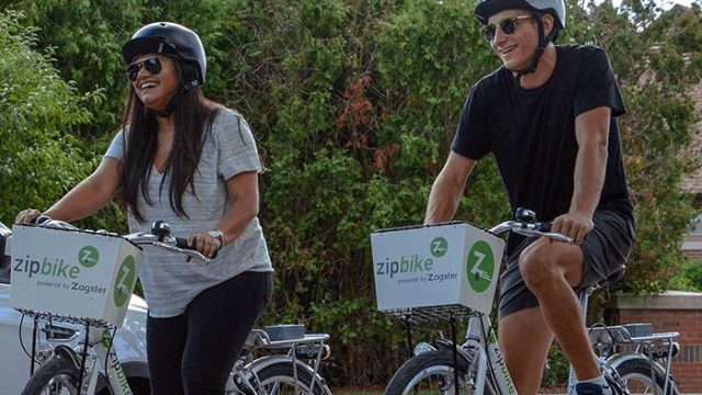 With New Partnership, Zipcar Offers Boston Students Bikes for Rent
